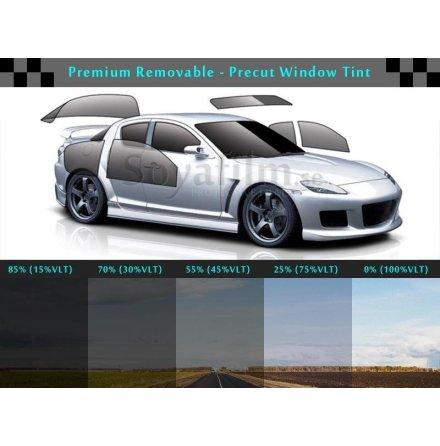 Avtakbar solfilm 2 frontdører 85% toning grad.